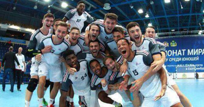 Campeones juveniles en la final del Mundial